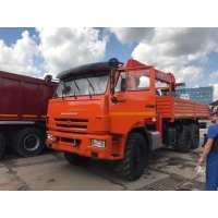 КАМАЗ бортовой 43118 с КМУ Kanglim KS 1256 G2 TOP